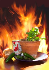You can make this salsa as hot as you can stand it. Photo credit Steve Henderson Fine Art
