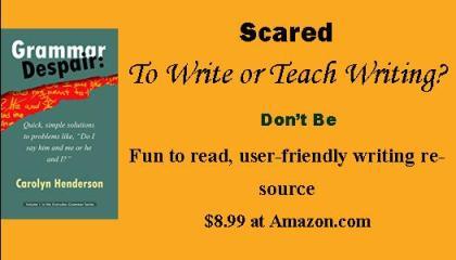 Grammar Despair Book by Carolyn Henderson
