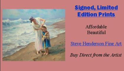 Signed limited edition prints from Steve Henderson Fine Art