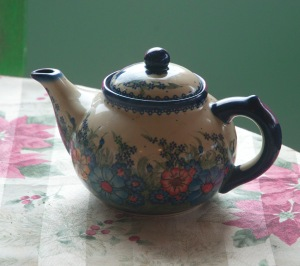 This is my teapot -- my indulgence -- an item of beauty crafted by an artisan. Photo credit Steve Henderson Fine Art.