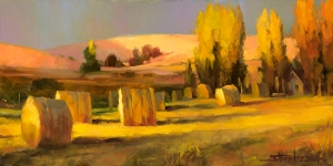 My mother grew up on a farm, where you learn lots of useful things. Homeland 3, licensed open edition art print by Steve Henderson at Great Big Canvas.