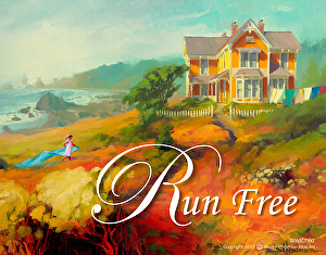 Take what you've got -- your circumstances, your resources, and run with it. Run Free, one of the inspirational poster collection at Steve Henderson Fine Art