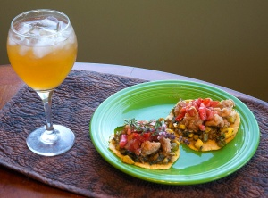 What a fun combination of flavors and texture -- and the drink? It's Kombucha. Photo credit Steve Henderson Fine Art.