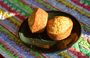 "What a way to say ""love"" -- a warm, homemade muffin. Photo credit Steve Henderson Fine Art."