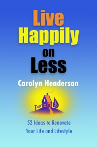live happily on less finance book by Carolyn Henderson at amazon.com