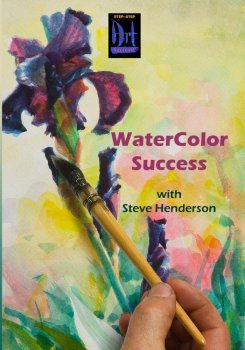 Step Success watercolor DVD for beginning and intermediate painters by Steve Henderson at amazon.com