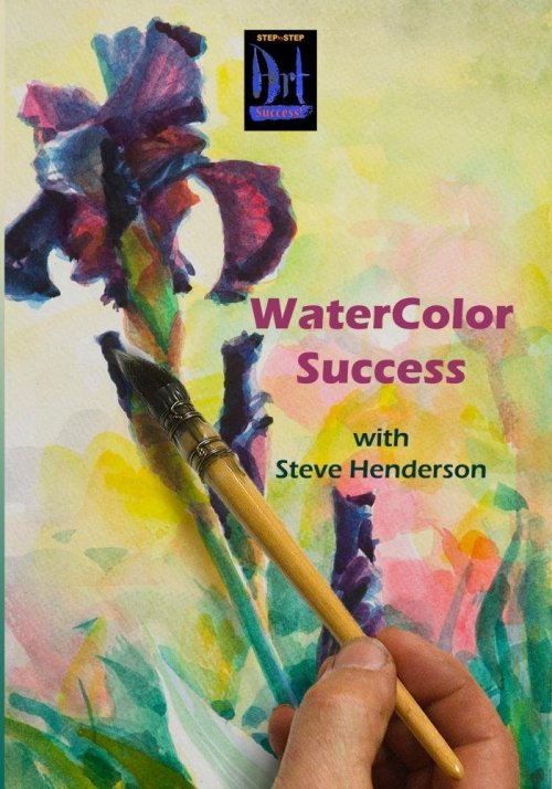 Step by Step Watercolor Success DVD digital workshop by Steve Henderson at Amazon.com