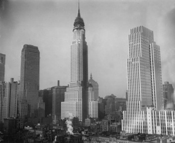 The world of business may not be the best place to look for the language of unconditional love. New York Skyline, circa 1920, AP photo.