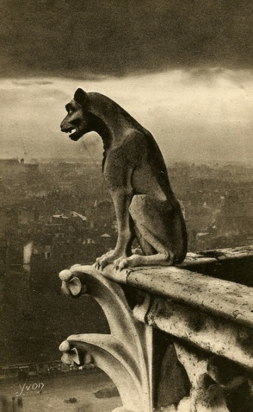 Too much information -- true, untrue, and partially true -- inspires a sense of fear and anxiety, hardly useful in anyone's life. Vintage post card image of Paris by Pierre Yves-Petit
