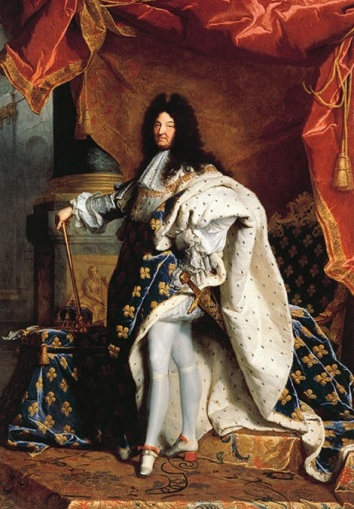 Christ never called us to lord our skills, abilities, and influence over our brothers and sisters. Louis XIV King of France by Hyacinthe Rigaud (1701)