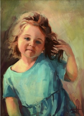 kymberlynn-child-toddler-girl-with-attitude-steve-henderson-figurative-home-decor-artowrk