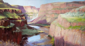 palouse falls waterfall landscape wilderness washington steve henderson