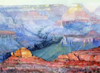 grand canyon landscape arizona southwest many hues steve henderson